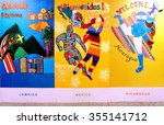 toronto  canada  10 nov 2015 ... | Shutterstock . vector #355141712