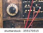 vintage communication device | Shutterstock . vector #355170515