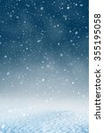 winter christmas background... | Shutterstock . vector #355195058