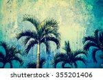 Palm Tree And Blue Sky Screen...