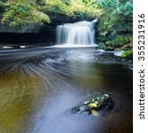 Small photo of West Burton Falls, Yorkshire Dales National Park in Autumn
