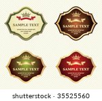 set of design elements | Shutterstock .eps vector #35525560