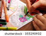 Adult Colouring With Soft Tip...