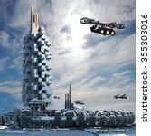 Futuristic City Architecture...
