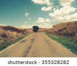 countryside road | Shutterstock . vector #355328282
