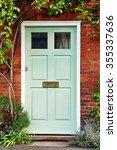 view of a beautiful front door... | Shutterstock . vector #355337636