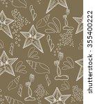 seamless pattern. marine... | Shutterstock .eps vector #355400222
