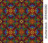 seamless abstract pattern  hand ... | Shutterstock .eps vector #355400282