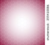 white vector honeycomb pattern... | Shutterstock .eps vector #355410086