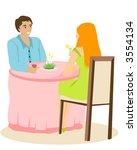 dating   vector | Shutterstock .eps vector #3554134