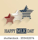 martin luther king day poster.... | Shutterstock .eps vector #355432076