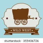wild west culture graphic... | Shutterstock .eps vector #355436726