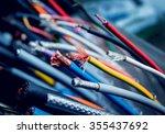 electrical equipment.... | Shutterstock . vector #355437692