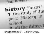 close up of english dictionary... | Shutterstock . vector #355449902