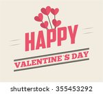love card design  vector... | Shutterstock .eps vector #355453292