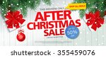 after christmas sale. vector...