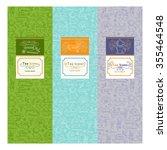 vector set of design elements...   Shutterstock .eps vector #355464548