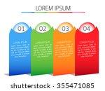 infographic  eps10  vector... | Shutterstock .eps vector #355471085