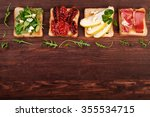 Sandwiches With Various...