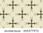 black and green patterns on a...   Shutterstock . vector #355577972