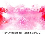abstract watercolor painting... | Shutterstock . vector #355585472