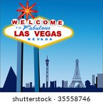 Stock vector las vegas 35558746