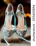 Wedding Shoes On Display