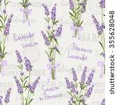 seamless pattern of lavender...   Shutterstock .eps vector #355628048