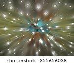 christmas multicolored... | Shutterstock . vector #355656038