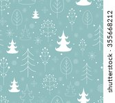 winter forest background.... | Shutterstock . vector #355668212