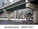 bridge  toronto high way  ...   Shutterstock . vector #35567257
