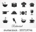 restaurant icon collection...