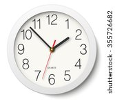 Round Wall Clock Without...