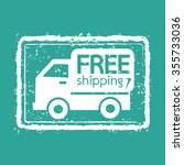 free shipping box icon...   Shutterstock .eps vector #355733036