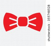 bow tie icon illustration... | Shutterstock .eps vector #355748528