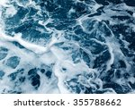 Ocean wave high angle view of...