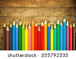 pencil. | Shutterstock . vector #355792535