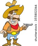 cartoon illustration of a...   Shutterstock . vector #355802366