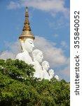 white big buddha statue at...