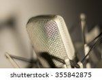 audio recording vocal studio... | Shutterstock . vector #355842875