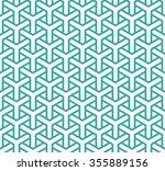 geometric seamless pattern in... | Shutterstock .eps vector #355889156