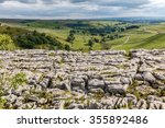 Malham Cove Top Looking Down...