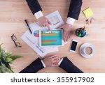 business team concept  ... | Shutterstock . vector #355917902