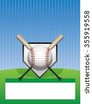 a baseball tournament flyer... | Shutterstock . vector #355919558