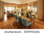 decoration and furniture of... | Shutterstock . vector #355950206