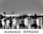 Charles Bridge And The Center...