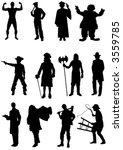 vector character set | Shutterstock .eps vector #3559785