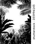 exotic tropical background of... | Shutterstock . vector #355996145