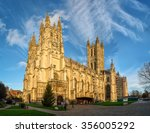 canterbury  united kingdom  ... | Shutterstock . vector #356005292