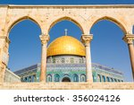 Dome Of The Rock Mosque In...